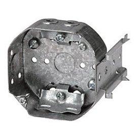 VISTA 54151-LB - 1 1/2'' DEEP CEILING BOX W/MTG. BRACKET & CLAMPS