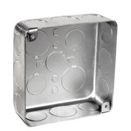 VISTA 52151-K - 4 X 4 X 1 1/2'' - DEEP SQUARE SHALLOW JUNCTION BOX W/KNOCOUTS