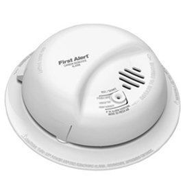 BRK BRK SMOKE CARBON MONOXIDE DETECTOR 120V WIRED W BATTERY BACKUP