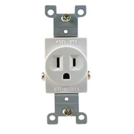 15A, 125VAC SINGLE RECEPTACLE