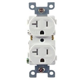 COVALIN 20A - 125VAC - TAMPER RESISITANT DUPLEX RECEPTACLE (WHILE QUANTITIES LAST)