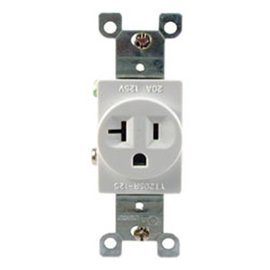 COVALIN 20A 125VAC SINGLE RECEPTACLE