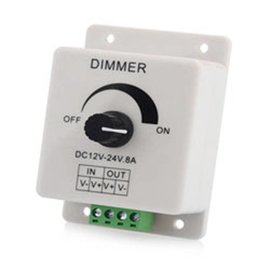96W In-Line DC Dimmer 12-24VDC