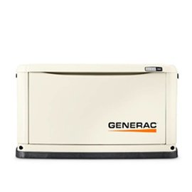GENERAC 16/16 KW AIR COOLED STANDBY GENERATOR WITH WIFI, ALUM ENCLOSURE, 200SE (NOT CUL) [1 2 WEEKS SHIPPING]