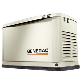 GENERAC 22/19.5KW AIR COOLED STANDBY GENERATOR WITH WIFI, ALUMINUM ENCLOSURE (UNIT ONLY) [1 2 WEEKS SHIPPING]