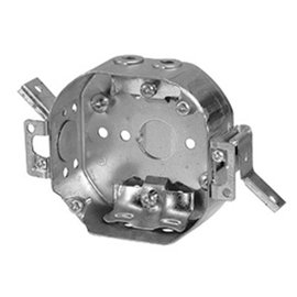 VISTA 54151-LD 4″ DIAMETER OCTAGONAL REWORK BOX WITH NMD90 CABLE CLAMPS