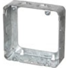 VISTA 73151-K - 1 1/2'' DEEP SQUARE EXTENSION BOX 4 11/16'' SQUARE W/KNOCKOUTS