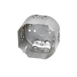 VISTA 54171-LF - 2 1/8'' DEEP CEILING FAN BOX W/CLAMPS AND 10-32 SCREWS