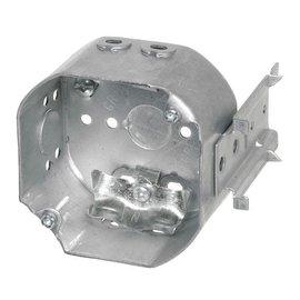 VISTA 54171-LB - 2 1/8'' DEEPS CEILING BOX  W/SIDE MOUNT BRACKET, W/CLAMPS