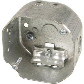 VISTA 54171-L - 2 1/8'' DEEP CEILING  BOX W/CLAMPS