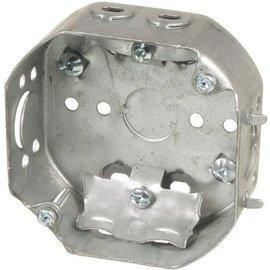 VISTA 54151-L - 1 1/2'' DEEP CEILING BOX W/CLAMPS
