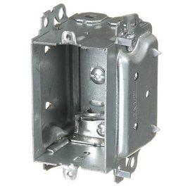 VISTA 3104-LHA - 2 1/2'' DEEP BUBBLE BOX W/ARMOURED CLAMPS