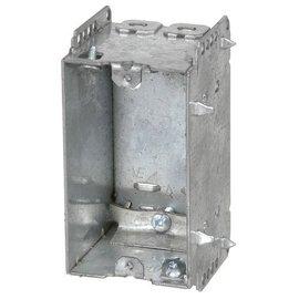 VISTA 2121-LLE - 2 1/2'' DEEP JUMBO BOX - 1 GANG W/NAILING LOOP & CLAMPS