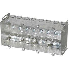 VISTA 2104-LLE4 - 2 1/2'' DEEP BOX - 4 GANG W/NAILING LOOP & CLAMPS