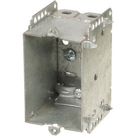 VISTA 2104-LLE - 2 1/2''DEEP BOX - 1 GANG W/NAILING LOOP & CLAMPS