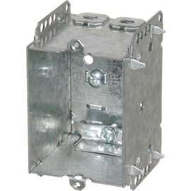 VISTA 1504-LLE - 2½'' DEEP BOX W/NAILING LOOP & CLAMPS