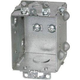 VISTA 1204-1-HV - 347V 2½ DEEP GANGABLE BOX W/MOUNTING EARS & KNOCKOUTS