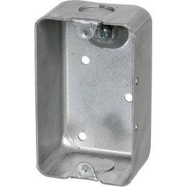 VISTA 1110-HV - 347V 1-7/8'' DEEP UTILITY BOX W/KNOCKOUTS