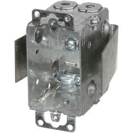 VISTA 1104-LRW - 2½'' DEEP REWORK BOX W/BRACKET, EARS & CLAMPS