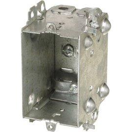 VISTA 1104-LH - 2 1/2'' BOX W/NAILING LOOPS & CLAMPS