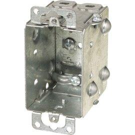 VISTA 1104-L - 2 1/2''DEEP BOX W/PLASTER EARS & CLAMPS