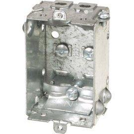 VISTA 1100-LLE - 1½'' DEEP BOX W/CLAMPS LESS EARS