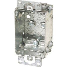 VISTA 1100-L - 1 1/2'' DEEP SHALLOW BOX W/CLAMPS
