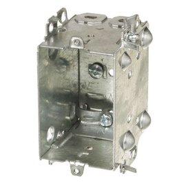 ORTECH 1104-LHA GANGABLE DEVICE BOX 2-1/2'' DEEP
