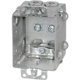 VISTA 1204-LA-HV - 347V 2½'' DEEP GANGABLE W/ARMOURED CLAMPS & EARS