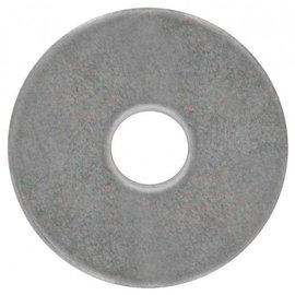 PAULIN 3/8 1 1/2''OD FENDER WASHER STEEL ZINC PLTD