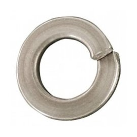 PAULIN 1/4 SPRING LOCK WASHER ''C'' PLTD          *