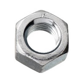 PAULIN 1/2-13 FINISHED HEX NUT UNC PLATED GR 2
