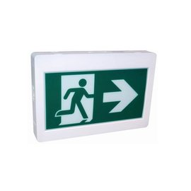 ORTECH EXIT SIGN, RUNNING MAN ***NEW***