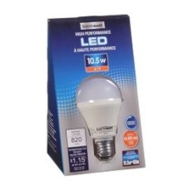 VISTA 10.5W A19, DIMMABLE, EQUAL TO A 60W, 820 LUMEN, 3000K