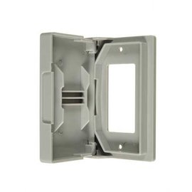VISTA GFCI WEATHERPROOF OUTLET COVER - WHITE