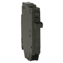GENERAL ELECTRIC 1 POLE 15A PUSH IN CIRCUIT BREAKER  THQP115