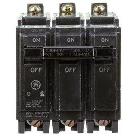 GENERAL ELECTRIC 3 POLE 35A BOLT ON BREAKER THQB32035