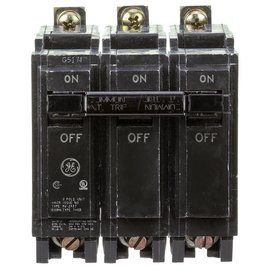 GENERAL ELECTRIC 3 POLE 40A BOLT ON BREAKER THQB32040