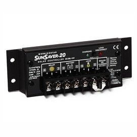SOLAR SUN SAVER 20 AMP REGULATOR W/ LVD,TC - 24VDC