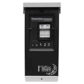 SOLAR MIDNITE 3 CIRCUIT ARRAY COMBINER BOX