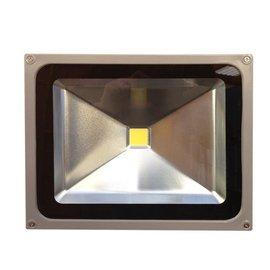 SOLAR 50W LED FLOODLIGHT FIXTURE - 12/24VDC