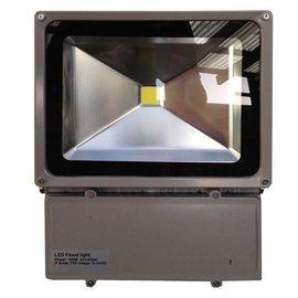 SOLAR 100W LED FLOODLIGHT FIXTURE - 12/24VDC