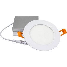 ORTECH SLIM LED DOWNLIGHT 4'', 9W, 550LMN, 3000K, WHITE