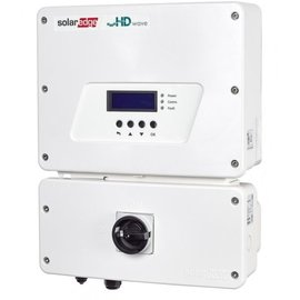 SOLAR SOLAREDGE  3.8 KW, 1Ø GRID TIED INVERTER, HD WAVE + EV CHARGER