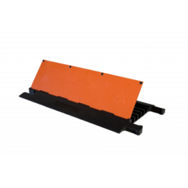 """RACKATIERS CABLE PROTECTOR-ULTRA GUARD 5 CHANNELS 36"""" -ADA"""