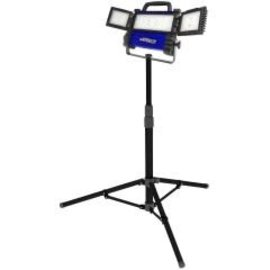 VISTA LED TRI-PANEL MULTI-DIRECTIONAL WORK LIGHT WITH TELESCOPIC STAND