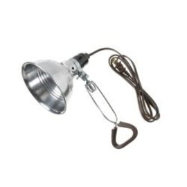 VISTA CLAMP-ON-LAMP - 18/2 SPT-2, 5 1/2'' REFLECTOR - 2M CORD - ALUMINIUM