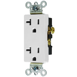 COVALIN 20A - 125VAC DECORATIVE DUPLEX RECEPTACLE (WHILE QUANTITIES LAST)