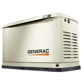GENERAC 22/19.5 KW SYNERGY AIR COOLED STANDBY GENERATOR WITH WIFI, ALUM ENCLOSURE, 200SE (NOT CUL) [1 2 WEEKS SHIPPING]