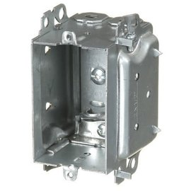 VISTA 1304-LHA - 2 1/2'' DEEP BUBBLE BOX W/ARMOURED CLAMPS